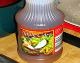 photo of a half gallon of apple cider a toenail fungus treatment