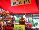 photo of an herbal tea market