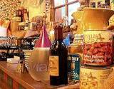 kitchen counter stocked with Italian food