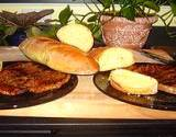 Italian seasoned steak and Italian bread