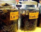 photo of jars of tobacco that could be used as a natural pest control
