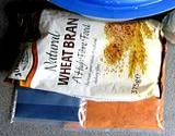 photo of packet of natural wheat bran an ingredient in pudding recipe for natural constipation relief
