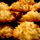 A picture of yummy coconut macaroons home remedy for chronic diarrhea