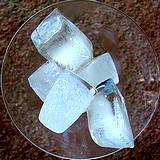 photo of a bowl of ice cubes a good source of back pain relief