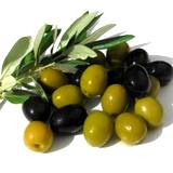 green and black Italian olives
