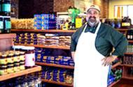 Authentic Italian store stocked with Italian food