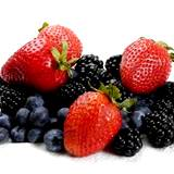 photo of mixed fruit, strawberries, blueberries and blackberries a natural treatment for diabetes
