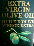 photo of a label on bottle of Pure Virgin Olive Oil