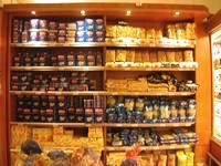 pantry full of variety of pasta