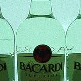 photo of bottles of Bacardi Rum