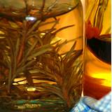 photo of a canning jar full of sage wine a home remedy for chronic fatigue