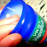 a jar of Vicks Vapo Rub a great home remedy for toenail fungus