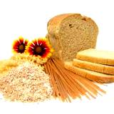 photo of variety of food made from wheat to avoid vitamin deficiency
