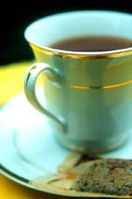 photo of a cup of chamomile tea for headache remedies